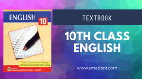 10th class english text book