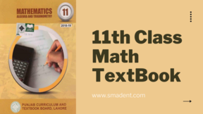 11th class math text book