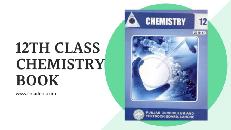 12th class Chemistry text book