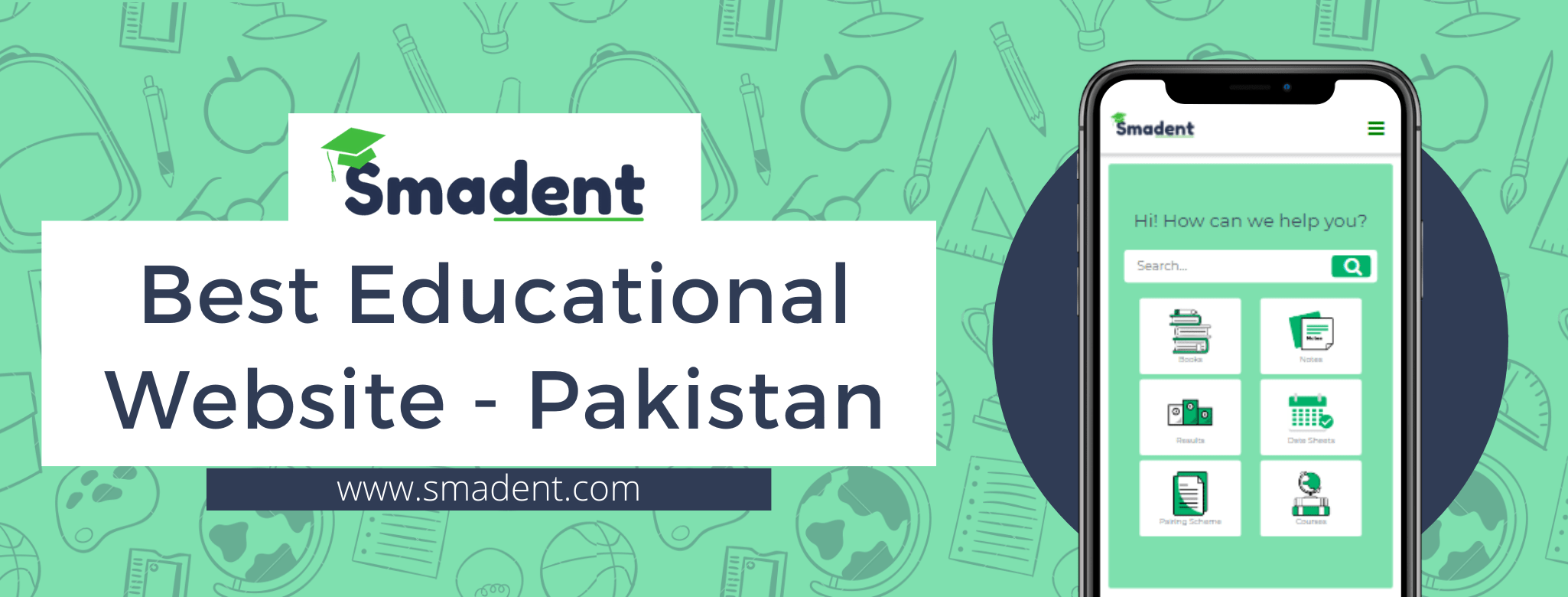 Best Educational website of Pakistan Smadent