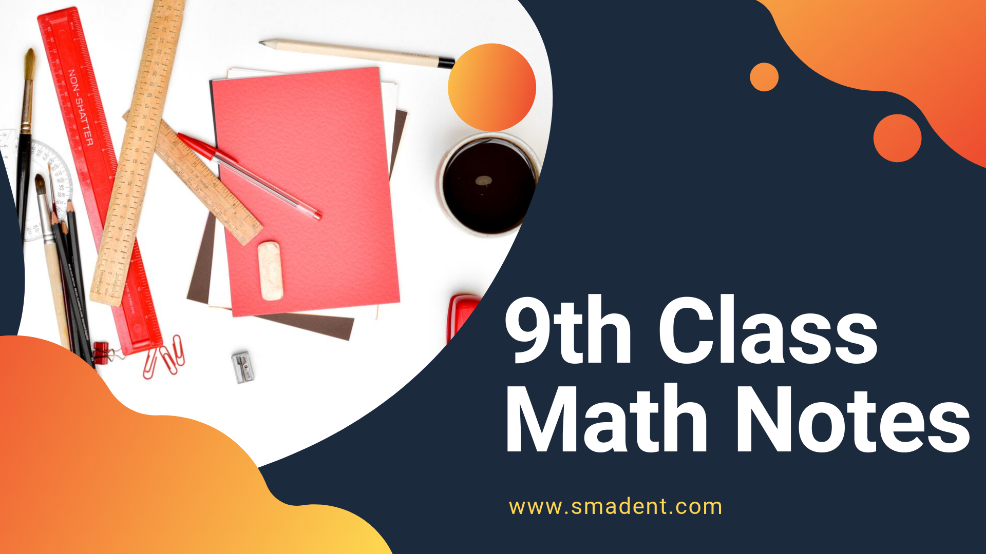 9th Class Math Notes | Smadent